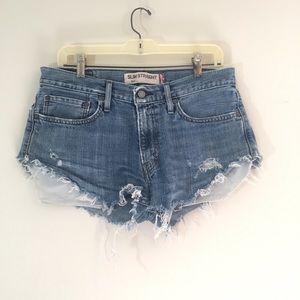 Levi's 514 Cutoff Jean Shorts {Size 32}